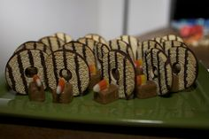 Six in the Suburbs: No Bake Turkey Cookies