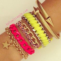 I love those!! I like colorful things and those are seriously cool!!