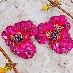 Chill, Vibrant, Bloom, Happy, Earrings, Flowers, Accessories, Instagram, Jewelry