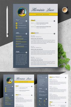 Welcome to the Resume Inventor!We are professionals with several years of experience in the job recruitment industry. Creative Cv Template, Job Resume Template, Resume Design Template, Cv Curriculum Vitae, Cv Inspiration, Job Resume Examples, Graphic Design Resume, Web Design, Design Ideas