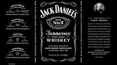 Jack Daniel's minimalizes its wordy design.