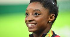 Alle wollen das Olympia Make-up von Simone Biles #News #Beauty