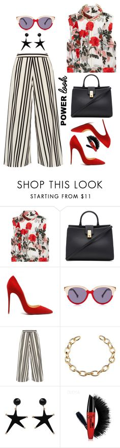 """What's Your Power Look?"" by prettynposh2 ❤ liked on Polyvore featuring Ganni, Marc Jacobs, Preen, Alice + Olivia and MyPowerLook"