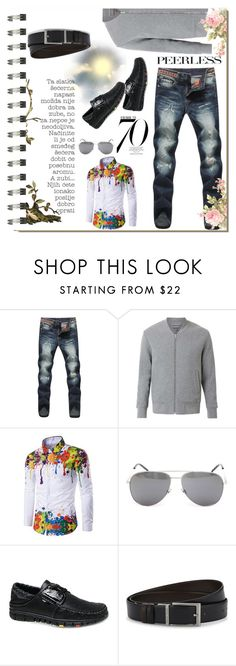"""""""Win $20 Cash from Rosegal!"""" by contrabutor ❤ liked on Polyvore featuring Koo, Witchery, Yves Saint Laurent, HUGO, Nico, men's fashion, menswear, chic, contestentry and polyvoreeditorial"""