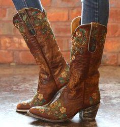 Old Gringo Sora Brass Teal Boots Rain Boots, Shoe Boots, Women's Shoes, Golf Shoes, Ankle Boots, Old Gringo Boots, Over Boots, Wedding Boots, Cowgirl Boots