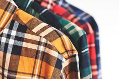 05f191af5d8 Image of DQM Steamer Plaid Cotton Flannel Shirts Best Flannel Shirts