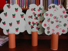 The Paper Maid: Apple Tree Craft