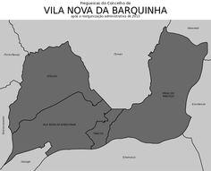 Freguesias do concelho de Vila Nova da Barquinha