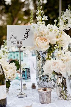 29 Jaw-Droppingly Beautiful Wedding Centerpieces - MODwedding#.UtnwOhRHaK0