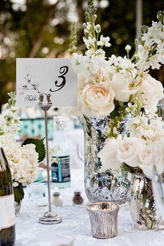 29 Jaw-Droppingly Beautiful Wedding Centerpieces - MODwedding#.UtnwOhRHaK0