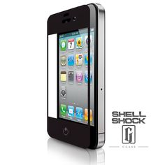 Best iPhone Screen Protector - Shell Shock: G-Class. It's not indestructible, but it's pretty darn close!