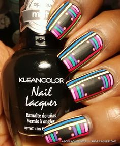 ANOTHER Bottle of Polish?!: Kleancolor - Madly Black, Sakura Gelly Roll Moonlight pens