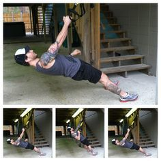 One-Off Workout: 25-Minute Full Body TRX Circuit for when I'm in hendo, since they have the trx straps at the y :)