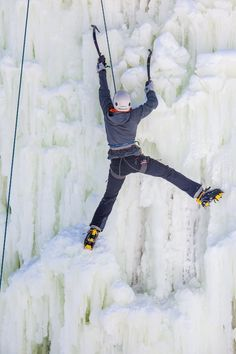 As our fall climbing group begins, we are planning our first ice climb, hosted by Down Wind Sports in Marquette, Michigan, February 2014!