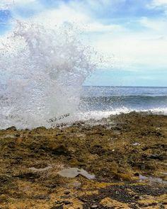 #BahiaAguacate #Colombia #Capurgana #hoyosoplador #sea #air #water #blue Ten, Niagara Falls, Instagram, Nature, Travel, Avocado, Parts Of The Mass, Colombia, Naturaleza