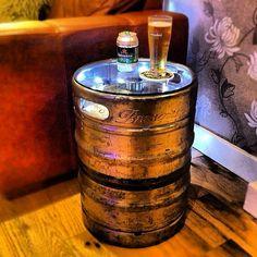Reutilização do barril de cerveja, amei!