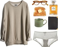 """""""Morning Writing."""" by heytheresara ❤ liked on Polyvore"""