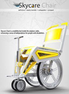 Skycare - Wheelchair by Brian Liang