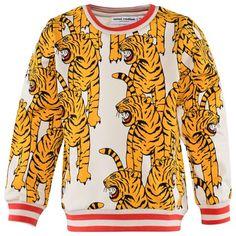 Mini Rodini Tiger Print Sweatshirt