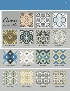 Granada Tile's current look book