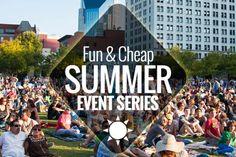 Fun & Cheap Summer Event Series in Nashville | Nashville Guru