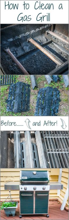 How to clean a Gas Grill! It's important that you properly clean your gas grill if you want great tasting food this summer, with step by step instructions.