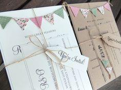 De la nota: Invitaciones de boda rústicas y estilo vintage  Leer mas: http://www.hispabodas.com/notas/2753-invitaciones-boda-rusticas-y-vintage: