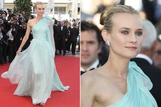 Diane Kruger at Cannes in a Giambattista Valli gown...ahhhhhh! Simply put, wonderful.