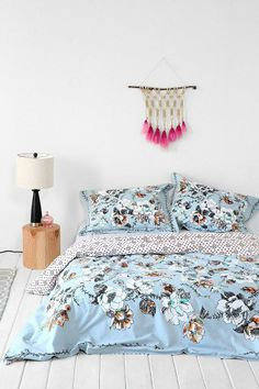 Plum & Bow Floral Scroll Duvet Cover #urbanoutfitters