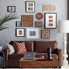 love the framed art grouping