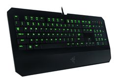 Most high-end gaming keyboards use mechanical switches, but if you prefer laptop-style chiclet keys, this Razer DeathStalker deal is right up your alley. Razer Gaming, Gaming Headset, Gaming Computer, Computer Keyboard, Bubble Games, Gaming Setup, Laptop Computers, Computer Accessories