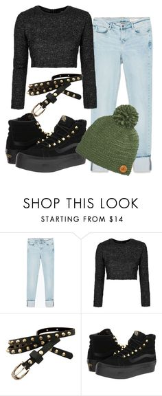 """Sin título #748"" by brenda-199 ❤ liked on Polyvore featuring Zara, Topshop, Vans and San Diego Hat Co."