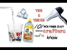 101 polymer clay TIPS & TRICKS every CRAFTERS need to know - YouTube