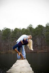 cute couple poses for christmas cards