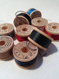 Corticelli Darning Silk Twist Embroidery Thread by TheBrownPear, $35.00