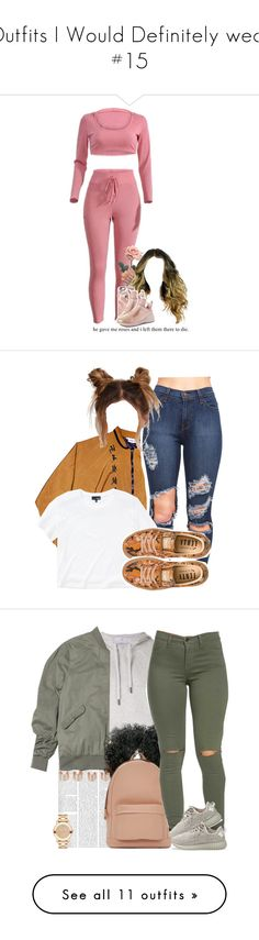 """""""Outfits I Would Definitely wear #15"""" by asilversmile ❤ liked on Polyvore featuring Casetify, Puma, Wilfred Free, adidas, PB 0110, adidas Originals, Movado, Maison Margiela, Faith Connexion and Forever 21"""
