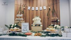 TwinnieFoods: Rustic Dessert Table Ideas