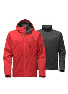 Arrowood Tricl Jkt in Cardinal Red by The North Face Triclimate Jacket f5d68cb7c7b3a