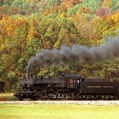 Chattanooga, TN - old steam engine train ride through mountains, Ruby Falls Caverns, Chattanooga Choo-choo station, Rock City, Incline Railway Ride, Lookout Mountain...