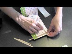 Karen Burniston: Sizzix Pop'n Cuts Card Base mit Insert etwas versetzt und anders gefaltet für Pop 'n Cuts Flying By Card - Video (Ausprobieren für Labels Insert / runder Rahmen / SU)