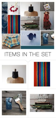 """Vintage & Modern"" by crystalglowdesign ❤ liked on Polyvore featuring art, modern and vintage"