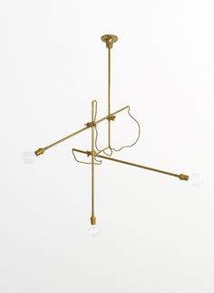 The ultra flexible Workstead BRASS CHANDELIER. Available through DSHOP http://shop.thedpages.com/products/workstead-brass-chandelier