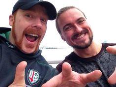 sheamus sheamus backstage  | Photo: Sheamus And Drew McIntyre - WrestlingInc.com