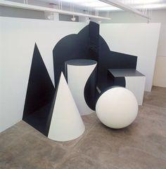 Ilusão de ótica nas instalações anamórficas de Regina Silveira - [Estou sem criatividade para bolar um título bacana]