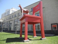 Denver Public Art // The Yearling - By Donald Lipski