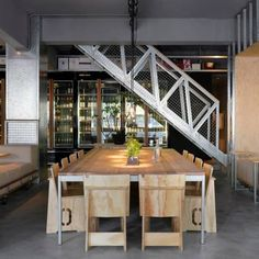 """Woolloomooloo's quirky name was sourced from a town in Australia, as are the coffee beans used to make its signature """"flat white"""" coffee drink (served in a glass, Aussie style).  Opened by a Taiwanese-Australian architect, this popular eatery offers a solid menu of Western dishes in an industrial..."""