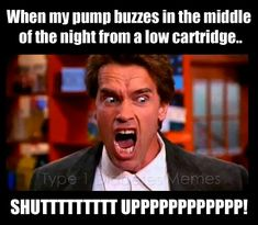"""I just laughed WAY too hard at this. I can not tell you how many times a week I look down at my pump and say """"Oh. My. God. SHUT UP!!!"""""""