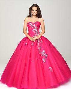 Vestidos de 15 anos largos color rosa (11)