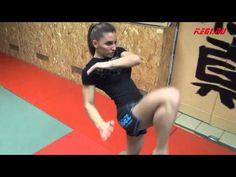 "▶ MMA-KEGI: Alexandra ""Stitch"" Albu workout (made by kendziro) - YouTube"