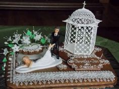 Svadobná dekorácia - darček, svadobné   Medovníky Artmama.sk